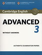 Best cambridge english advanced 3 student's book without answers Reviews