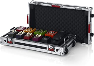 Gator Cases G-TOUR Series Gutiar Pedal board with ATA Road Case, Wheels and Pull Handle; Large: 24