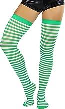 ToBeInStyle Women's Striped Thigh Hi