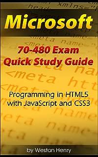 Microsoft 70-480 Exam Quick Study Guide