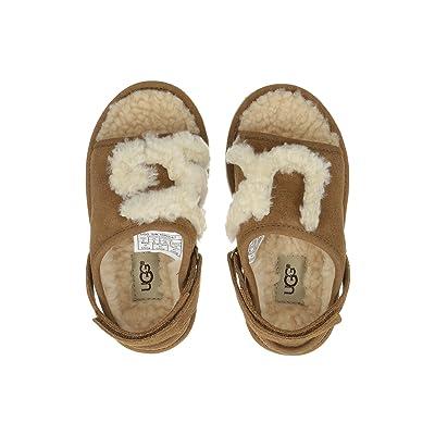 UGG Kids UGG Slide (Toddler/Little Kid) (Chesnut) Girl
