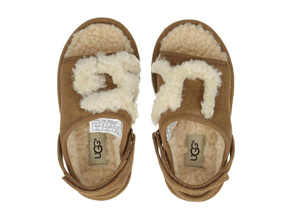 UGG Kids UGG Slide (Toddler/Little Kid) (Chesnut) Girl