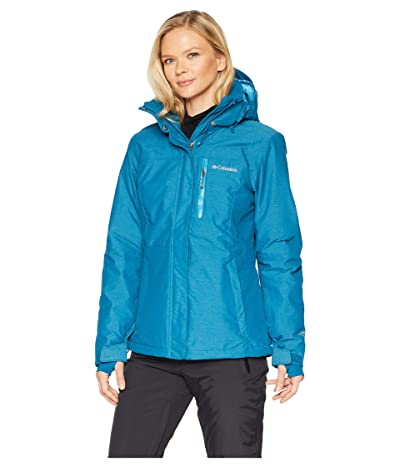 Columbia Alpine Actiontm Omni-Heattm Jacket (Lagoon Cross-Dye/Beta/Lagoon) Women