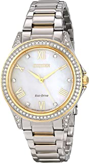 Citizen Women's Swarovski Crystal Two-Tone Watch