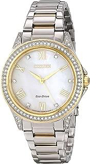 Women's Swarovski Crystal Two-Tone Watch
