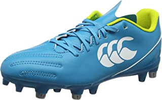 (10.5 UK, Turquoise (Carribean Sea)) - Canterbury Men's Control 2.0 Soft Ground Rugby Boots