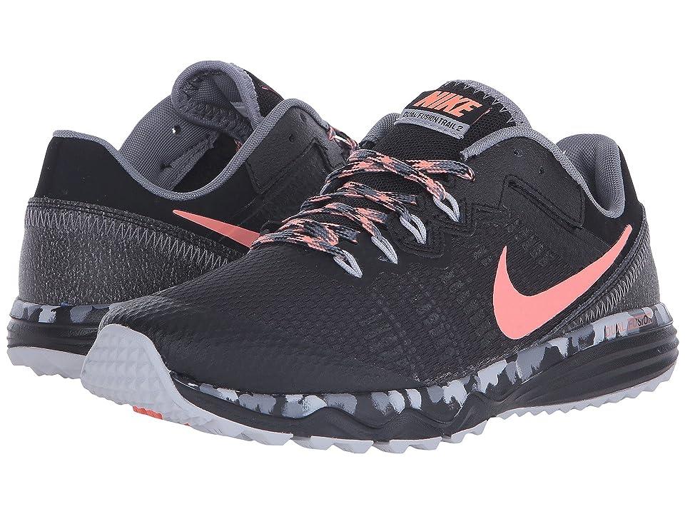 Nike Dual Fusion Trail 2 (Black/Cool Grey/Wolf Grey/Atomic Pink) Women