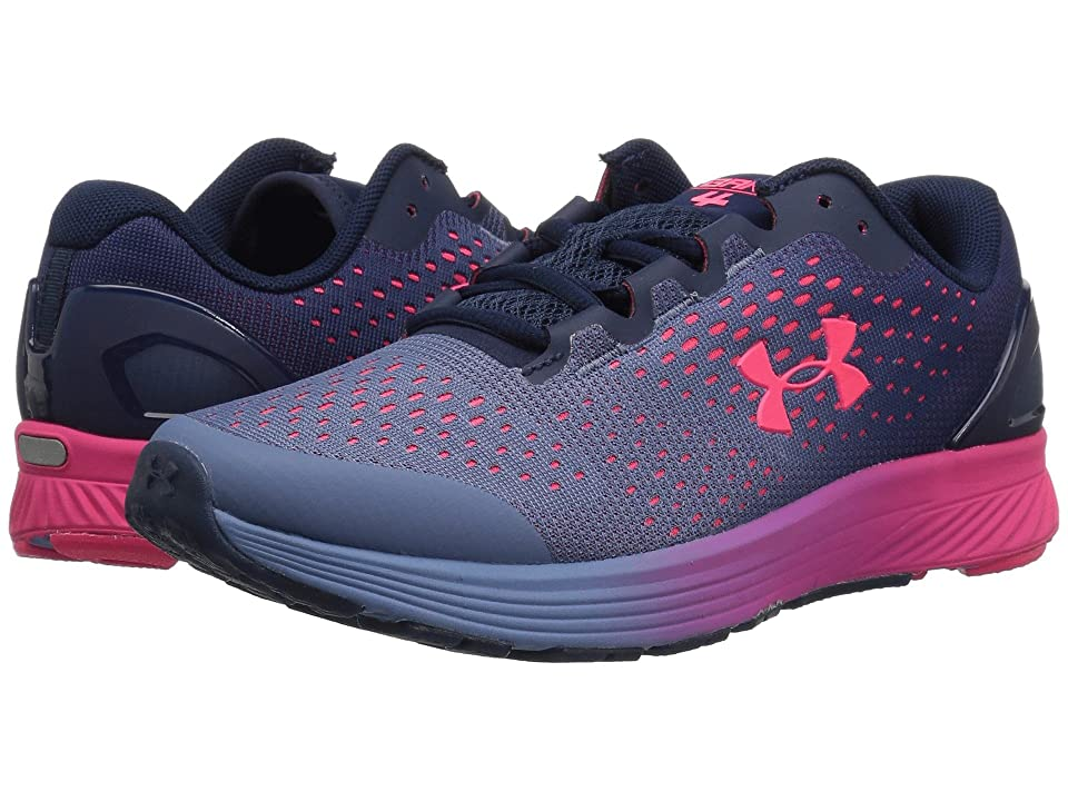 Under Armour Kids UA GGS Charged Bandit 4 (Big Kid) (Academy/Thermal Blue/Penta Pink) Girls Shoes
