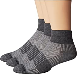 Merino Coolmesh Quarter 3 Pack