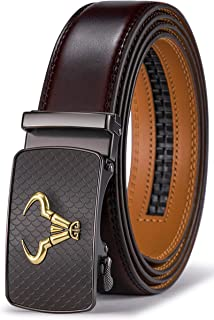 Sponsored Ad - Men's Belt,Bulliant Brand Ratchet Belt Of Genuine Leather For Men Dress,Size Customized