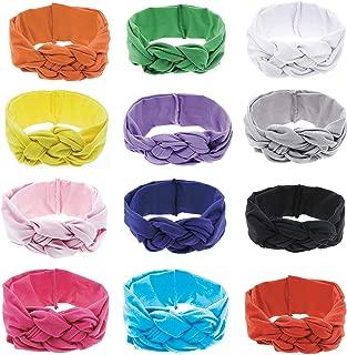 turban bow headband for babies