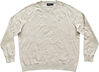 Men's Big & Tall Crew Neck Pullover Sweater Long Sleeve...