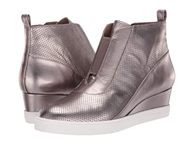 LINEA Paolo Anna Wedge Sneaker (Pewter) Women