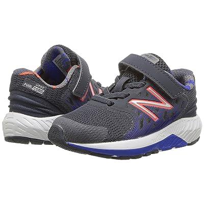 New Balance Kids KVURGv2I (Infant/Toddler) (Grey/Pacific) Boys Shoes