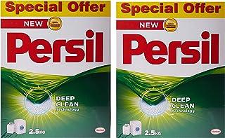 Persil Detergent Powder, 2.5kg x2