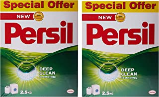 Persil Low Foam Powder, Pack of 2 x 2.5kg