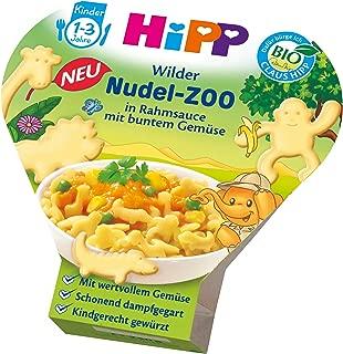 HiPP 喜宝 野生动物面条动物园 配奶油酱和各色蔬菜,6件装(6 x 250 克)