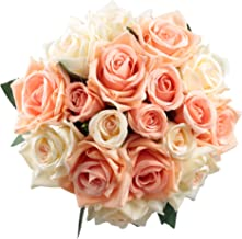 Best coral rose wedding bouquet Reviews