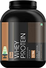 HNESS 100% Pure Whey Energy Protein Supplement Powder with Vitamins & Minerals, 1 kg / 2.2 lb (Chocolate)