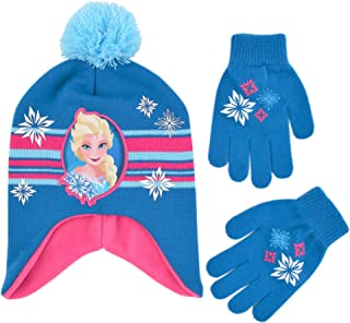 disney princess scarf and gloves set