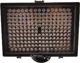 CMVision-IR200-198 (850nm) IR LED Night Indoor/Outdoor Long Range 300ft IR Illuminator w/Free 12V Power Adapter (Up & Down Position Adjustment only)