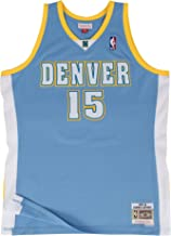 Mitchell & Ness Carmelo Anthony Denver Nuggets NBA Throwback Jersey - Blue