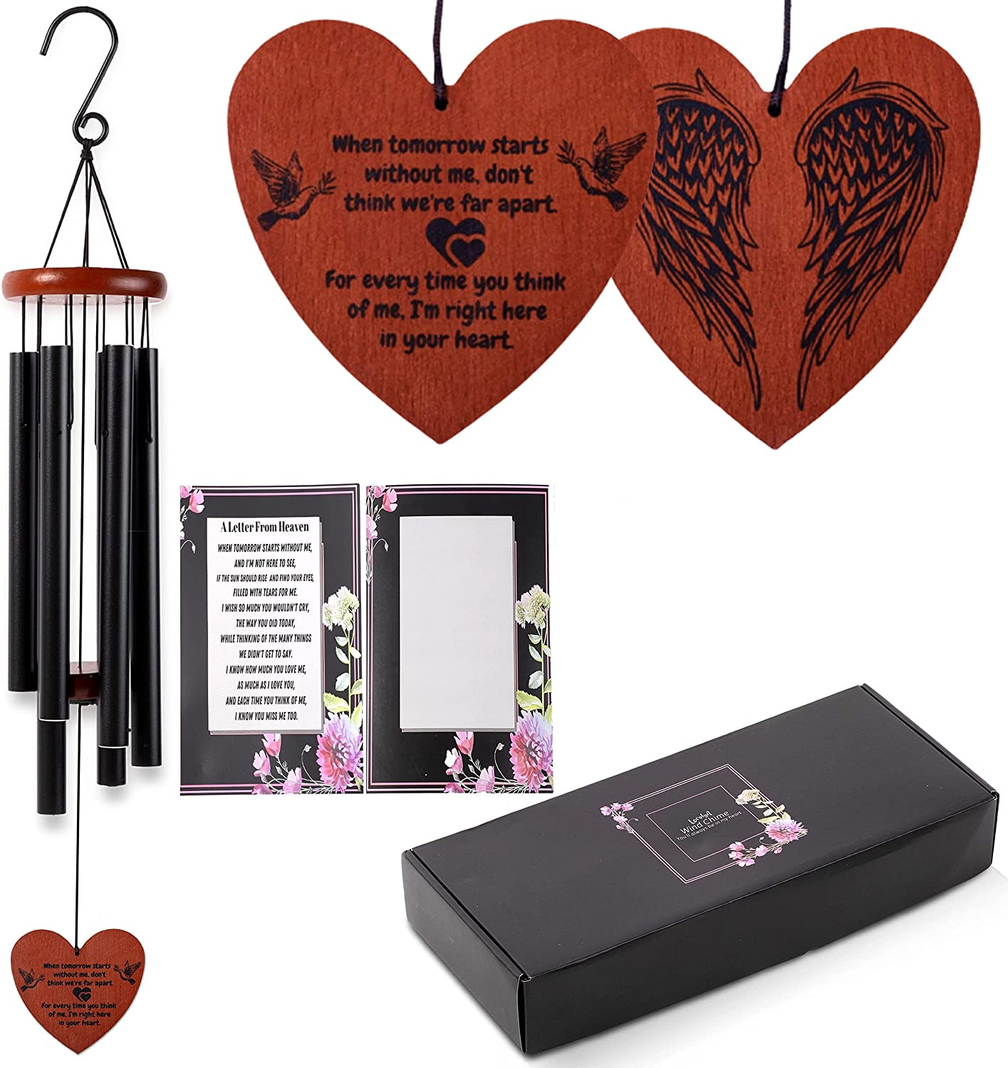 Memorial Wind Chimes Charlotte Mall Large 32 Free shipping anywhere in the nation for Loss Chime Sympathy inch