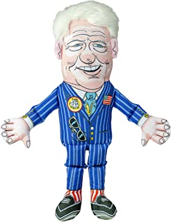 FUZZU Political Parody Dog Toys with Squeakers (Medium to Large Dogs), Various Styles (Bernie, Bill, Donald, Hillary, Vladimir) - Fun & Entertaining, Durable, Hand Illustrated Design & Premium Quality