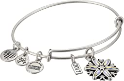 Alex and Ani - Black Friday Snowflake Bangle