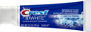 Crest 3D White Arctic Fresh Icy Cool Mint Flavor Whitening Toothpaste, 3.5 oz