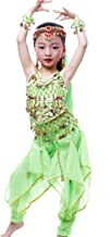 Astage Girls Arabian Princess Halloween Costume Genie Performance Belly Dance Sets