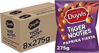 Duyvis Tijgernootjes Paprika Fiesta, Doos 8 stuks x 275 g