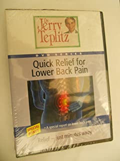 Quick Relief for Lower Back Pain - Dr. Jerry Teplitz