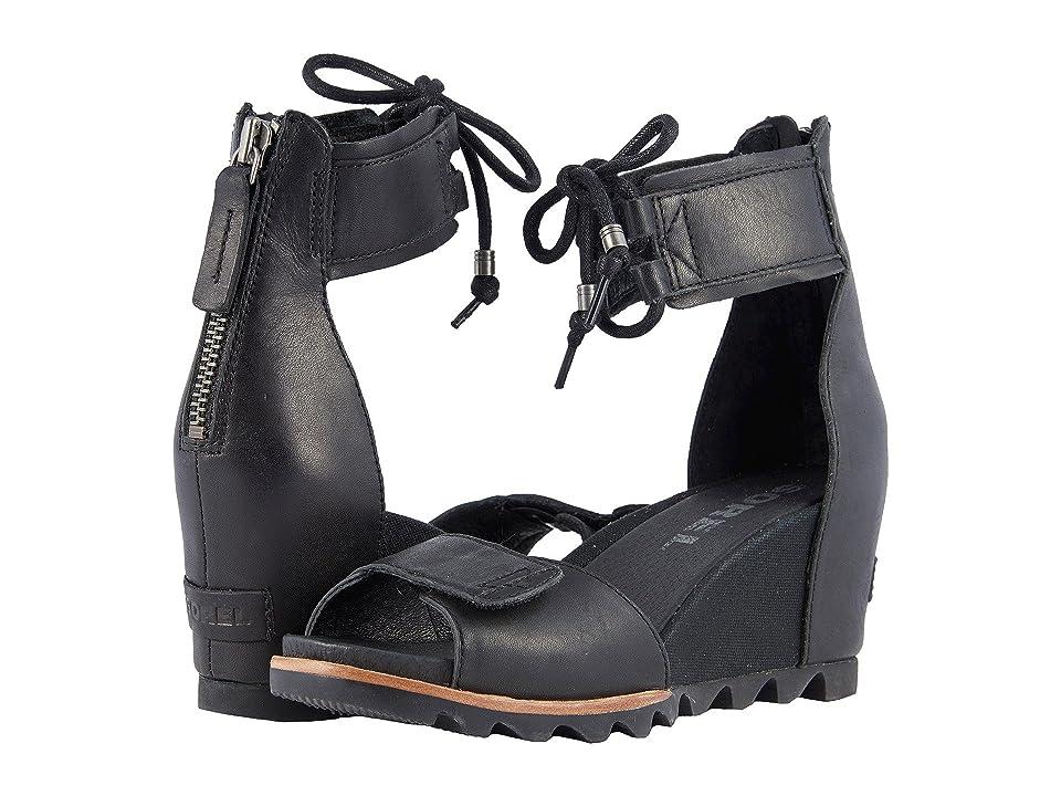 SOREL Joanie Ankle Lace (Black) Women