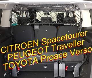 ERGOTECH Trennnetz/Hundenetz RDA65 XL16 kty018, für Hunde und Gepäck. Sicher, komfortabel für Ihren Hund, garantiert!