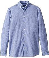 Eton - Contemporary Fit Cotton/Linen Solid