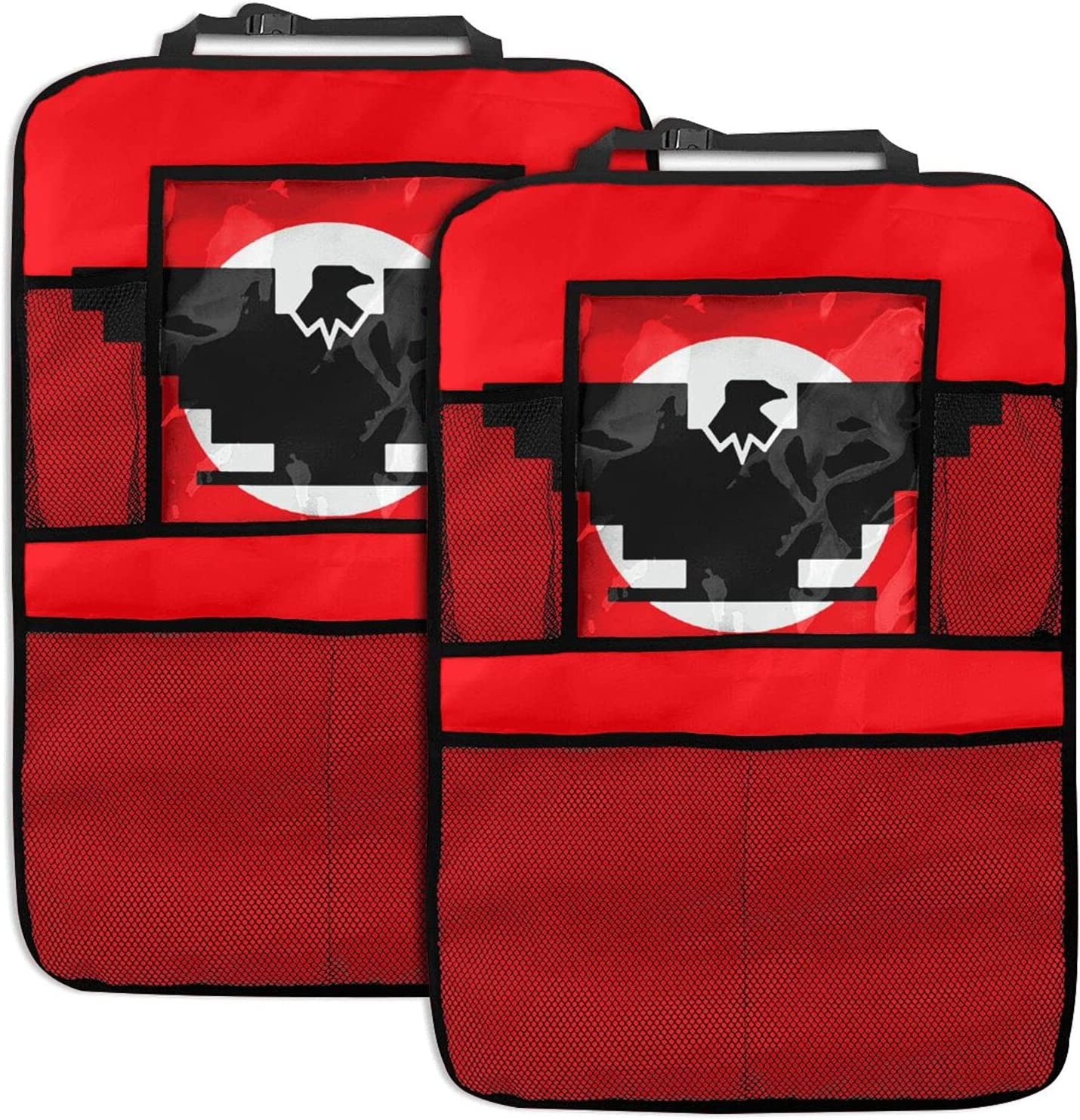 Aztlan Huelga Bird Special price for a limited time 2pc Car Backseat Back Seat specialty shop Protecto Organizer