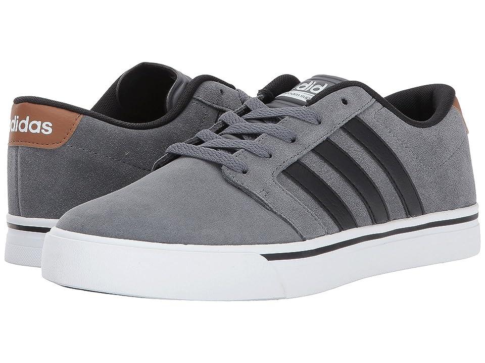 adidas Cloudfoam Super Skate (Grey Four/Core Black/Timber) Men