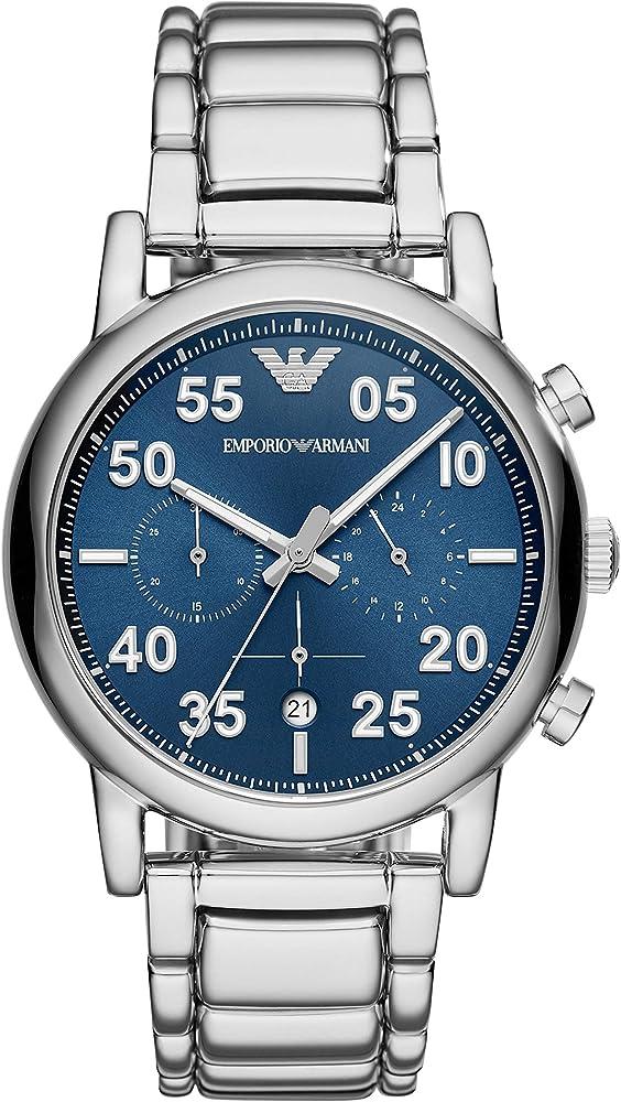 Emporio armani orologio cronografo quarzo uomo AR11132