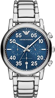 Emporio Armani Men's Quartz Watch, Analog Display and Stainless Steel Strap AR11132