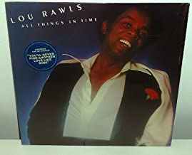 Lou Rawls – All Things In Time Label: Philadelphia International – PZ 33957 Format: Vinyl, LP, Album Country: US Released: 1976 Genre: Funk / Soul Style: Soul, Disco, Funk record EX/EX