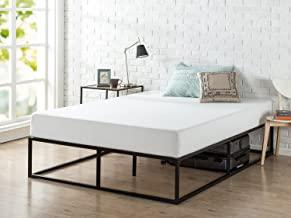 Zinus Joseph Modern Studio 14 Inch Platforma Bed Frame / Mattress Foundation / Boxspring Optional / Wood slat support, Queen