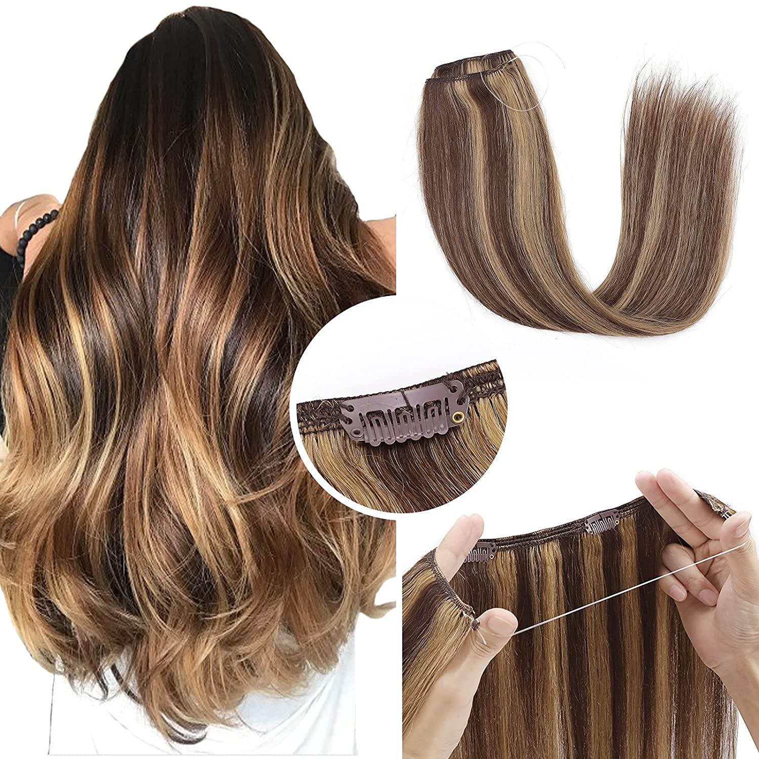 Miracle Wire Hair Ranking New mail order TOP4 Extensions Clip Human On