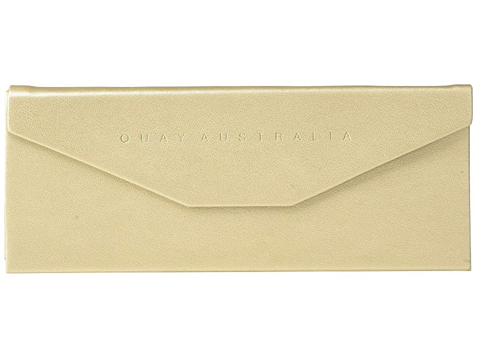 QUAY AUSTRALIA Embossed Trifold Case (Gold/Gold) Wallet