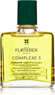 Rene Furterer COMPLEXE 5 Stimulating Plant Extract, Pre-Shampoo Detox Scalp Treatment, 1.6 Fl Oz