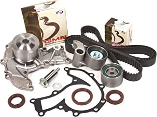 Evergreen TBK303WPT Fits 98-03 Isuzu Honda Acura 3.2L & 3.5L 6VD1 6VE1 DOHC Timing Belt Kit Water Pump