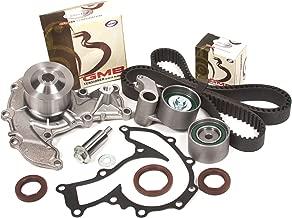 Evergreen TBK303WPT Fits 98-03 Isuzu Honda Acura 3.2L & 3.5L 6VD1 6VE1 DOHC Timing Belt Kit Water Pump