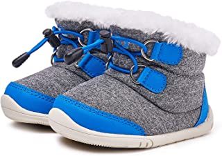 BMCiTYBM Toddler Winter Snow Boots Boys Girls Cold Weather Baby Faux Fur Shoes (Infant/Toddler/Little Kid)