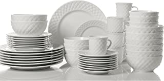 Gibson Home Antique Quilt Dinnerware Set (48-Piece)