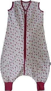 Slumbersac Standard Sleeping Bag with Feet and Poppers 2.5 Tog - Flamingo - 12-18 months/80cm